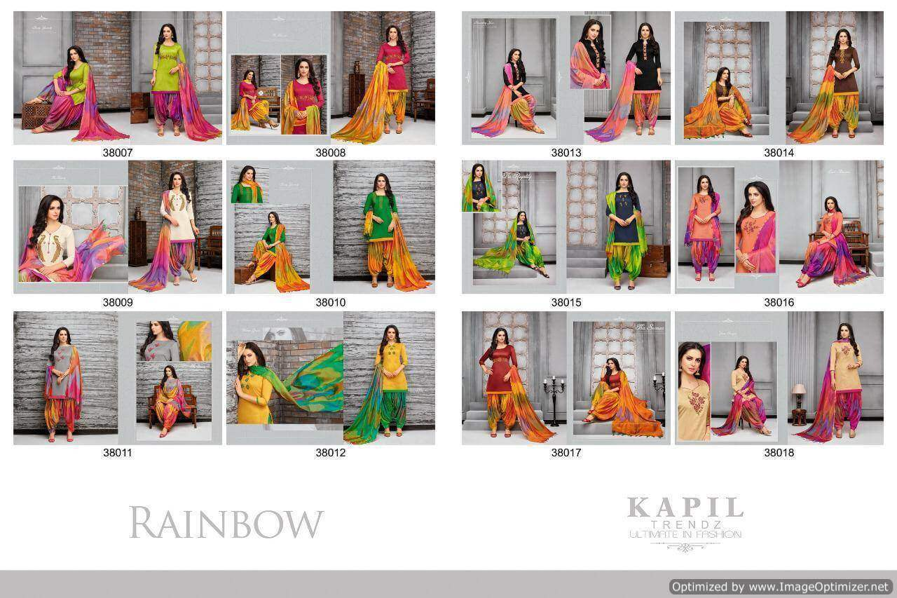 Kapil Rainbow collection 8