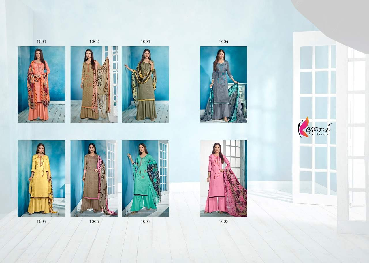 Kesari Trendz Baraso Dupatta Vol 1 collection 4