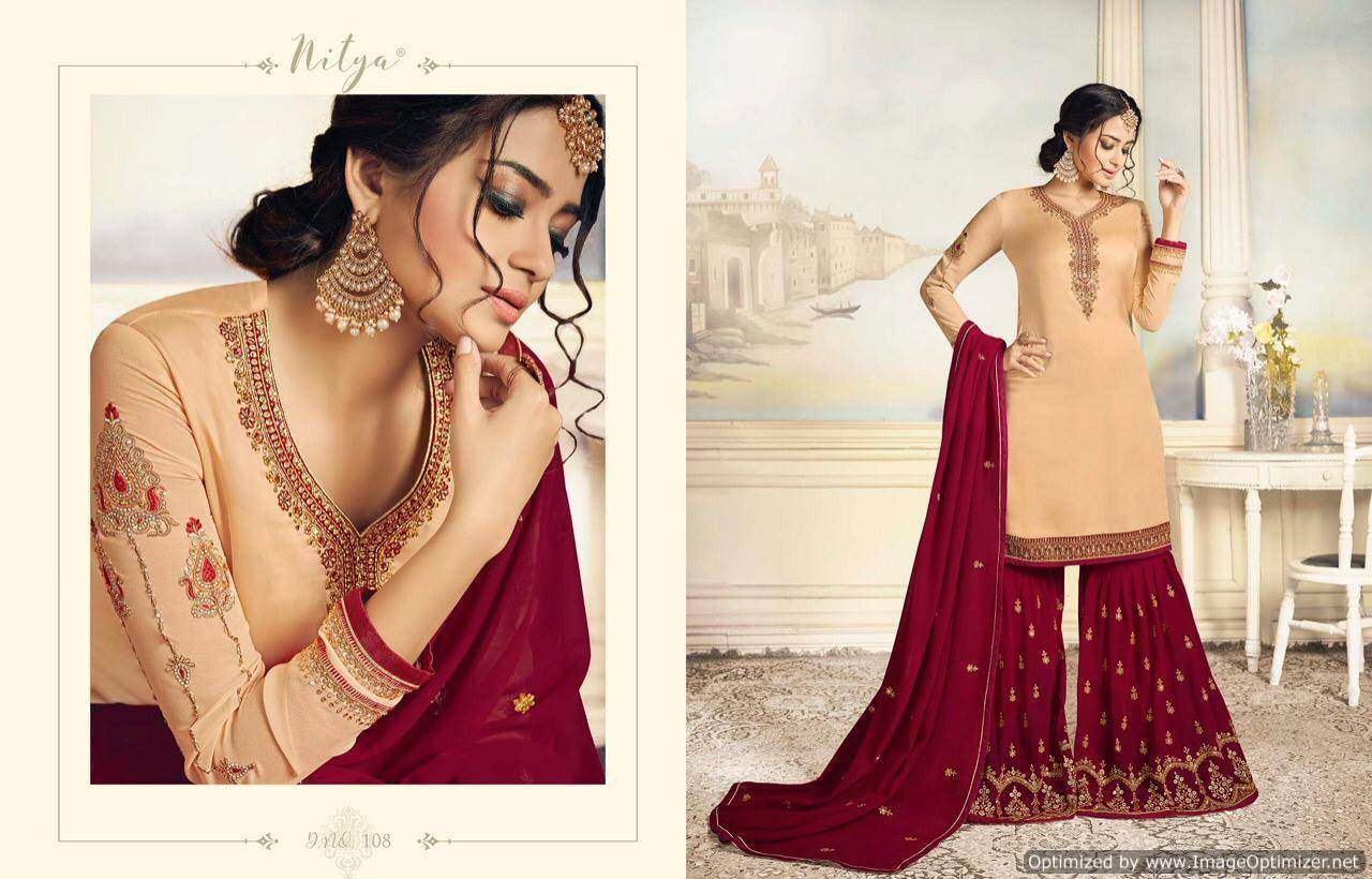 LT Nitya Sharara Special collection 4