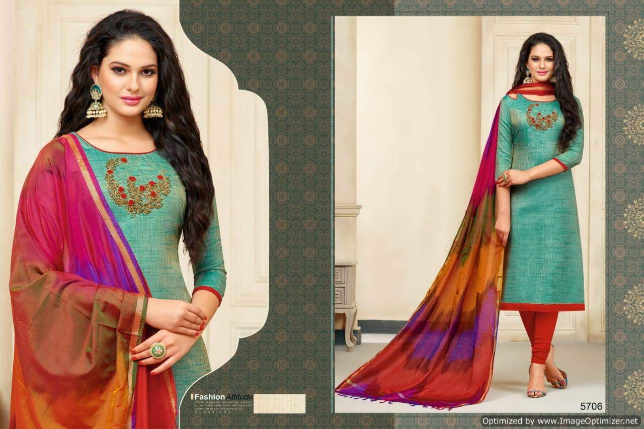 R R Banarasi Style collection 9