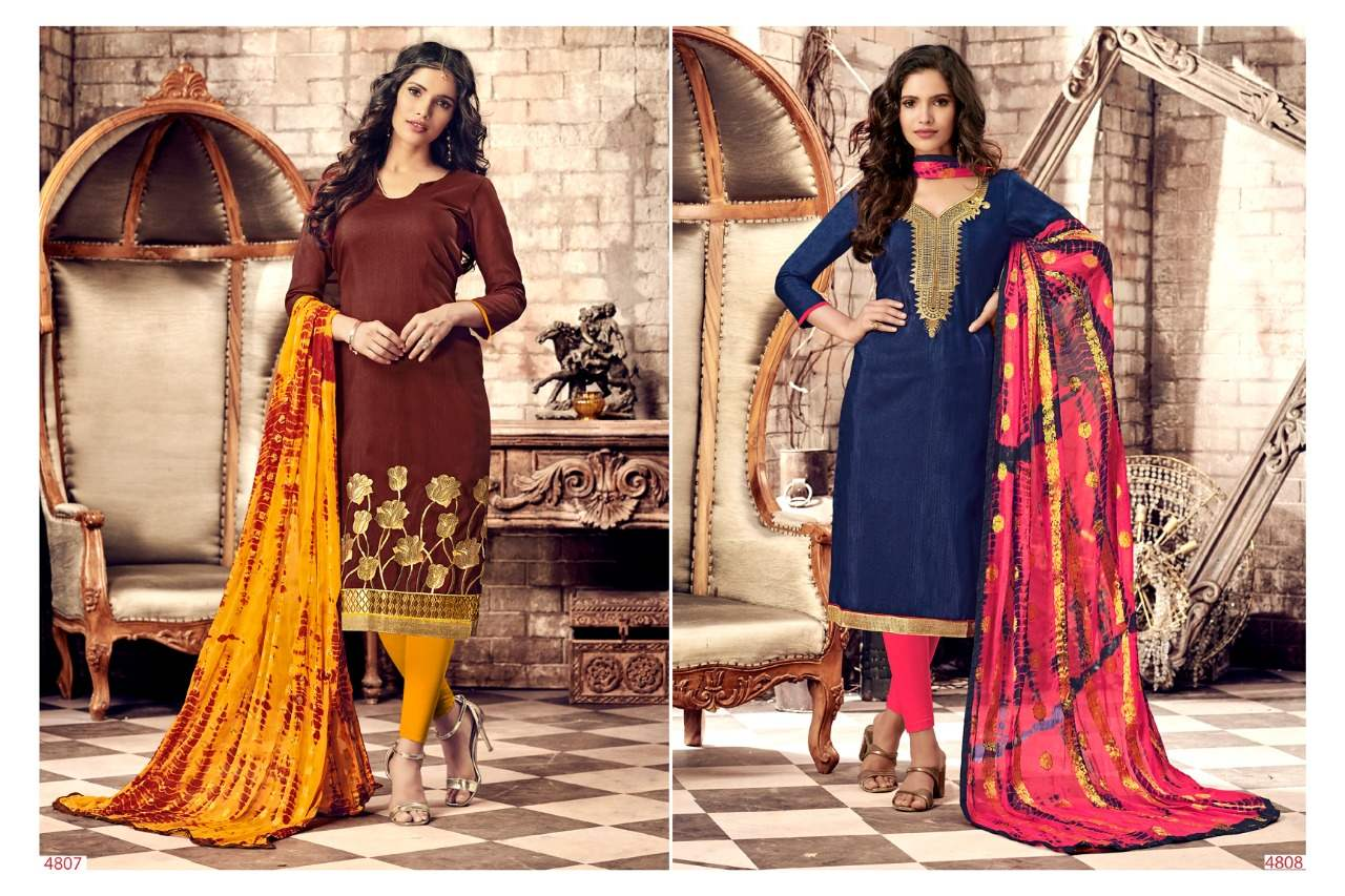 R R Fashion Razia Vol 3 collection 8