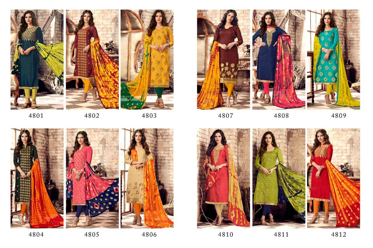 R R Fashion Razia Vol 3 collection 4