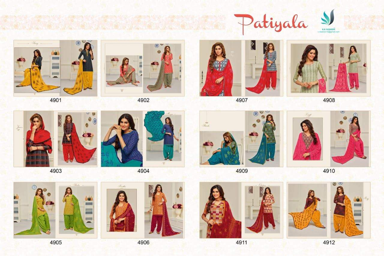 R R Fashion Rr Patiyala collection 7