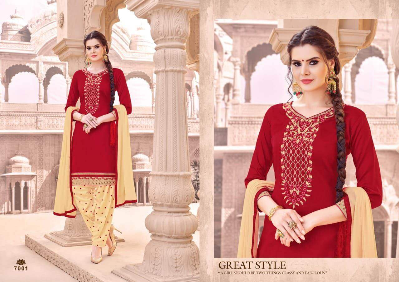 SMF Patiyala Silk collection 7