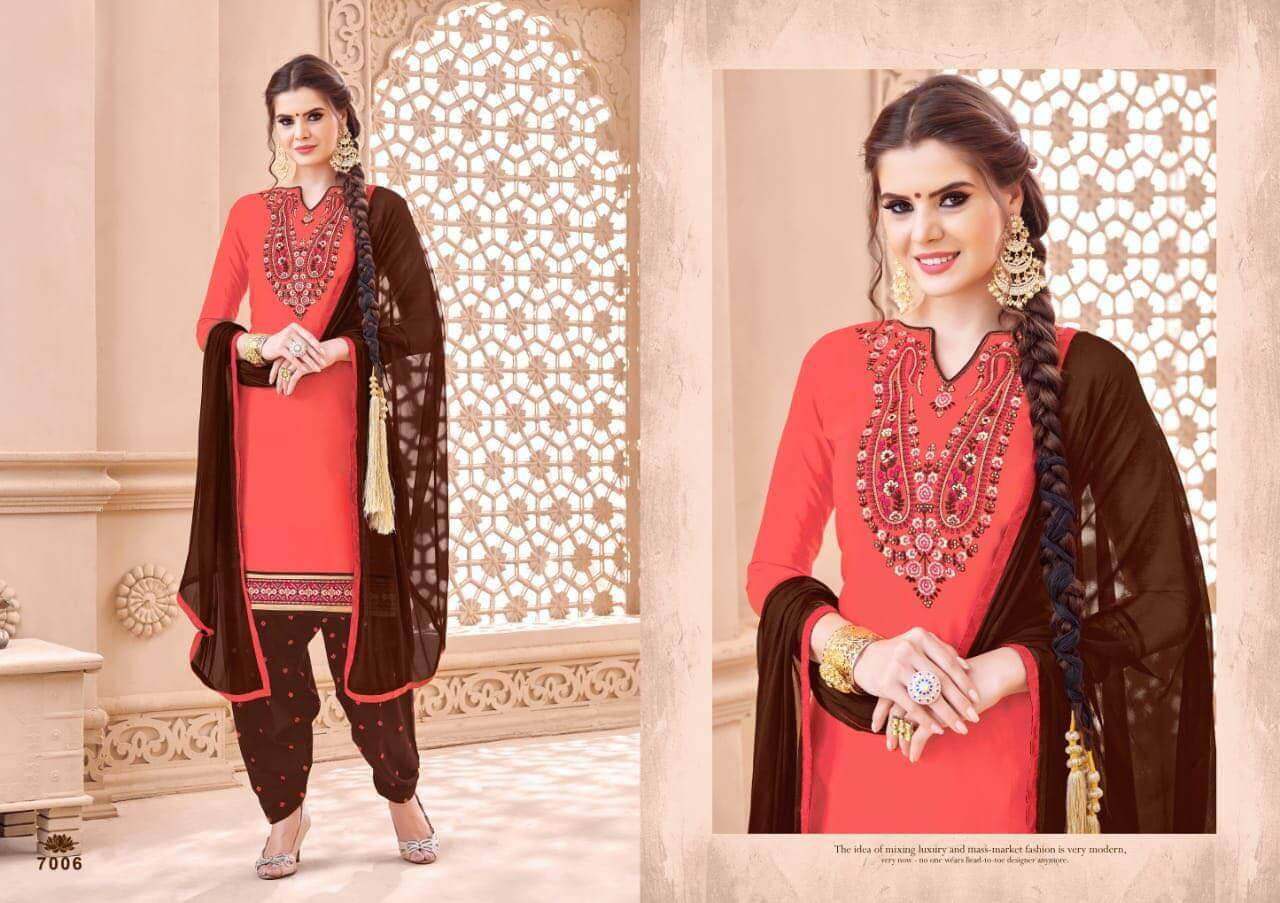 SMF Patiyala Silk collection 5