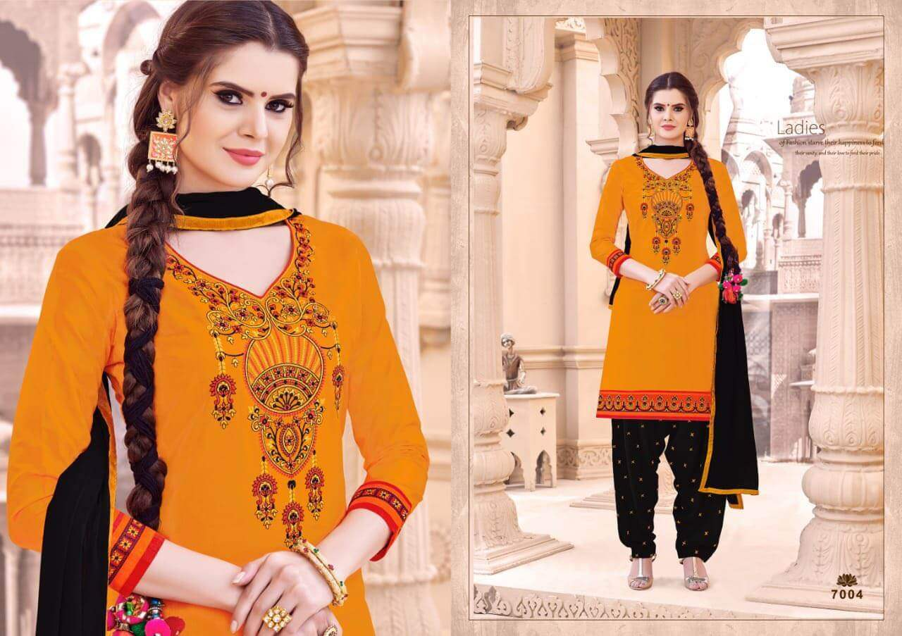 SMF Patiyala Silk collection 3