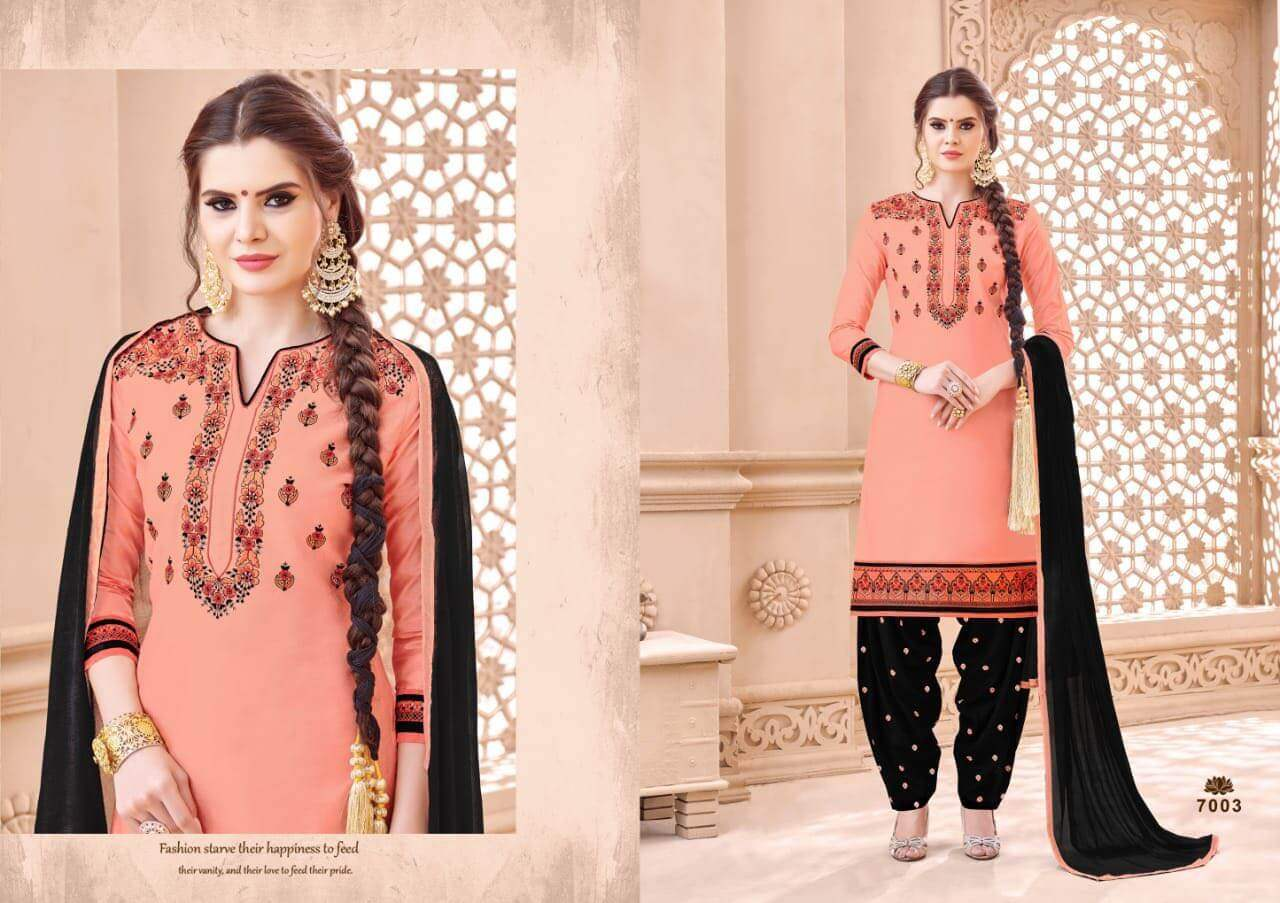 SMF Patiyala Silk collection 1