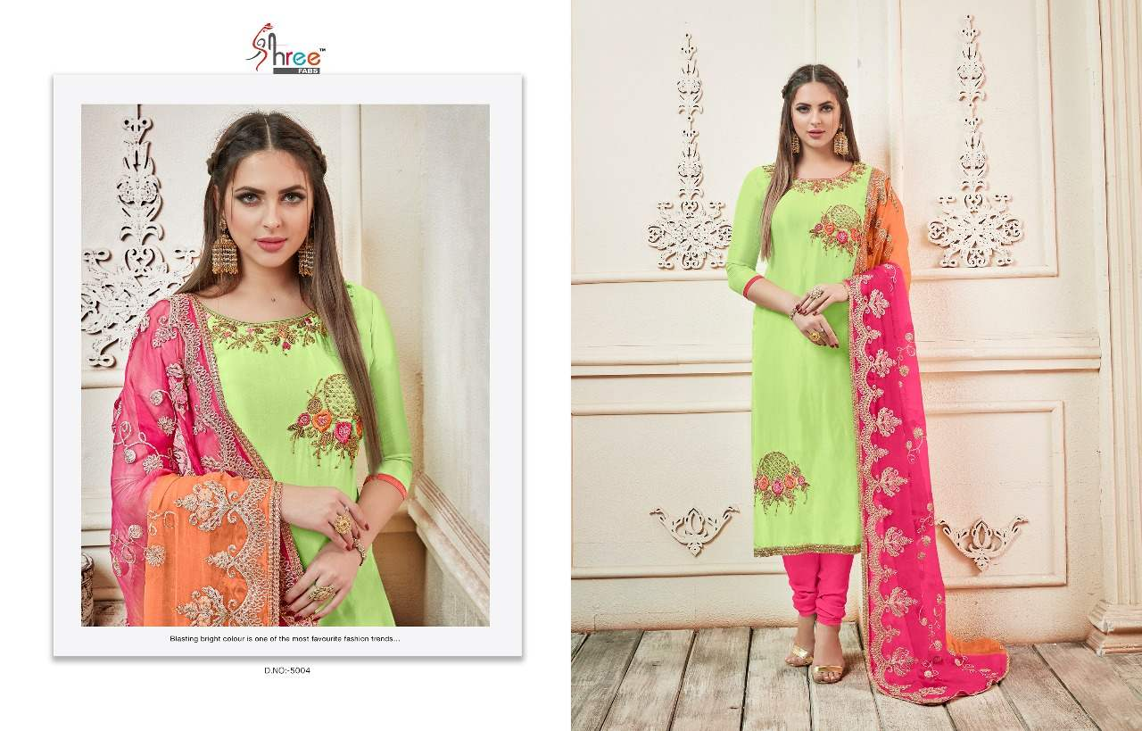 Shree Fabs Rangoli collection 4