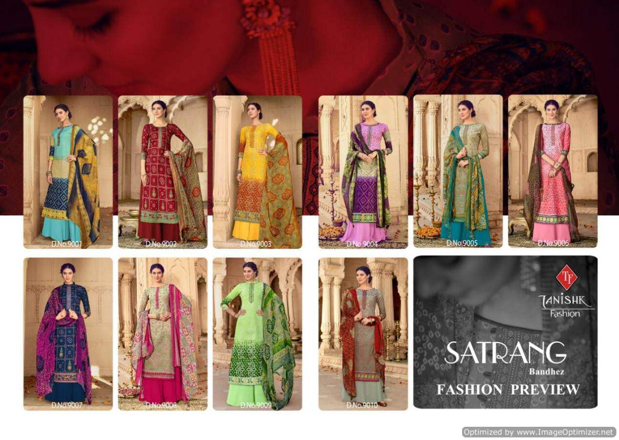 Tanishk Satrang collection 2