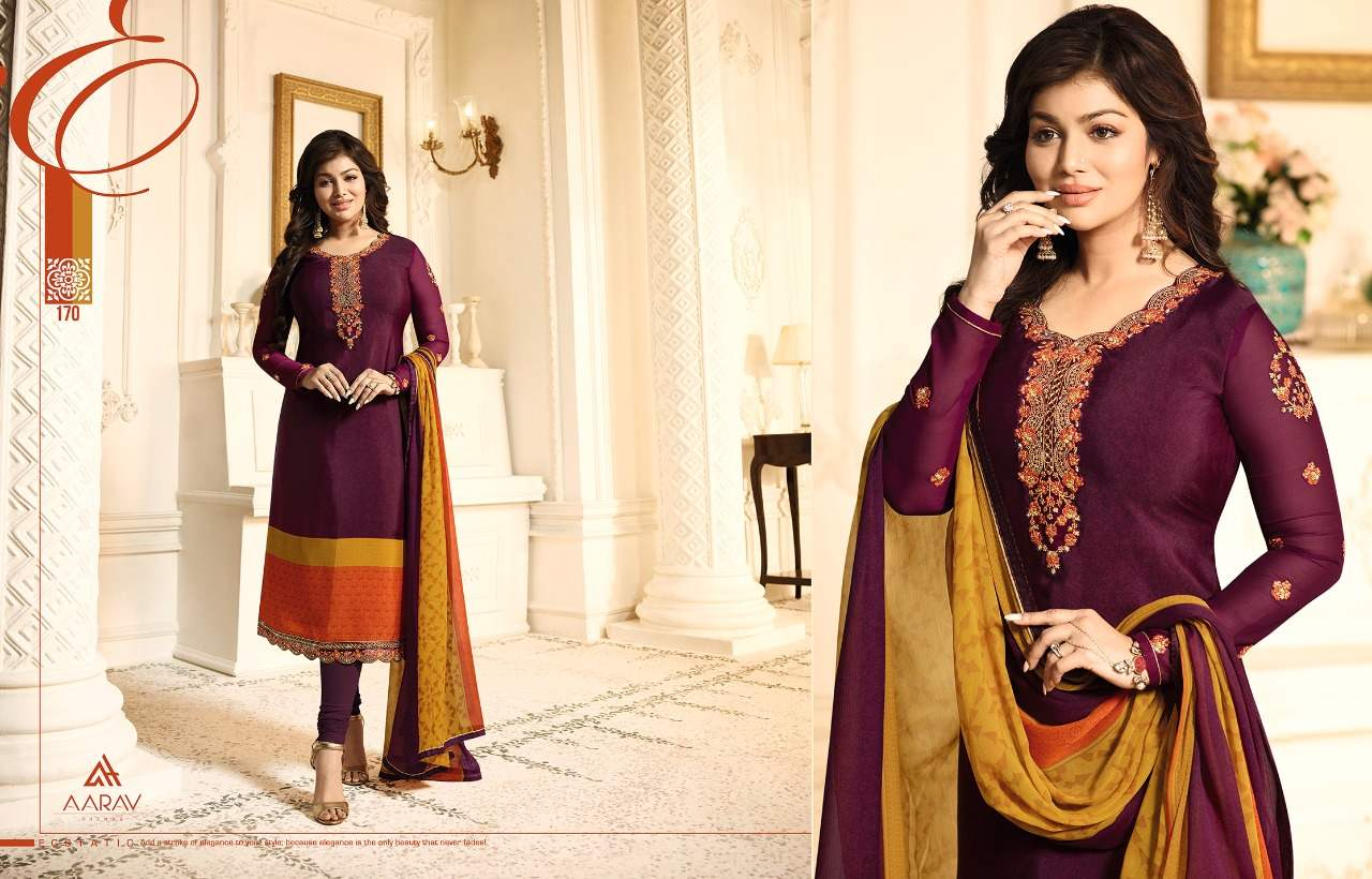 Aarav Trendz Silky Premium Crape Vol 1 collection 2