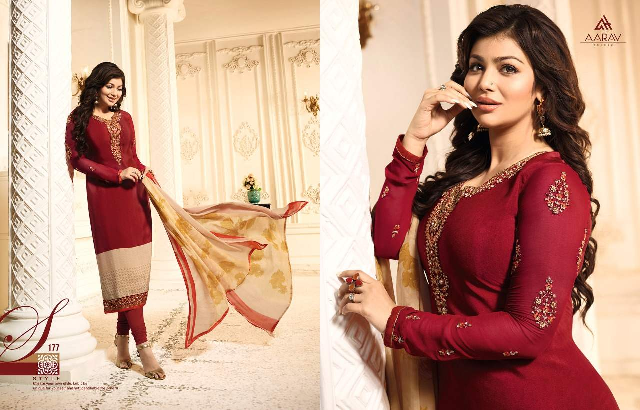 Aarav Trendz Silky Premium Crape Vol 1 collection 4