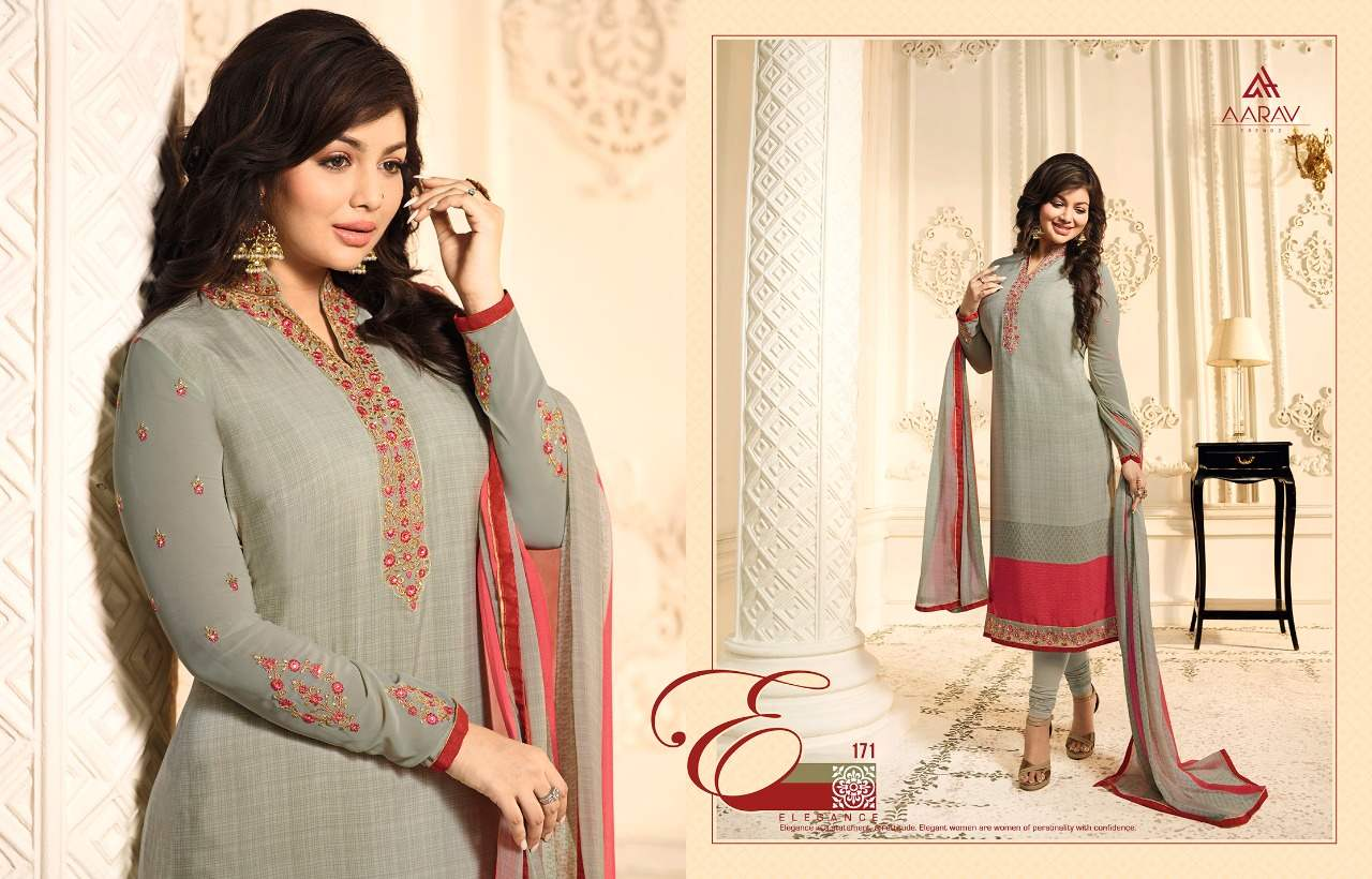 Aarav Trendz Silky Premium Crape Vol 1 collection 5