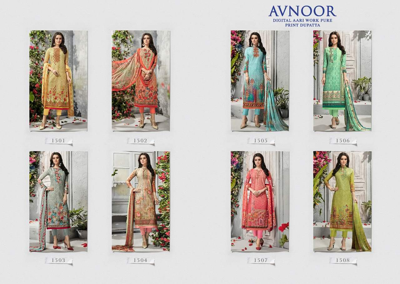 Kesari Trendz Avnoor Vol 1 collection 2