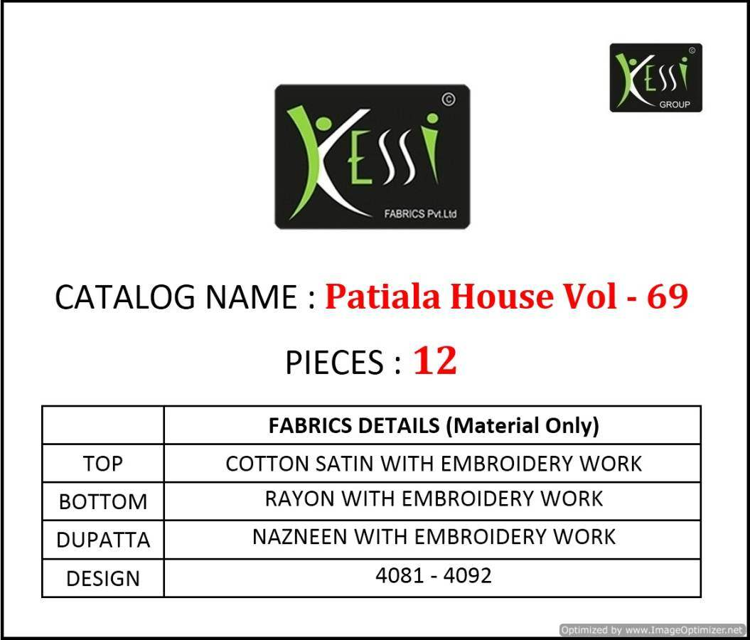 Kessi Patiala House Vol 69 collection 7