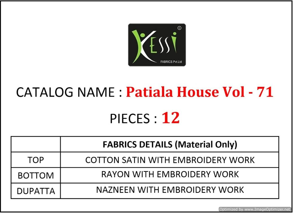 Kessi Patiala House Vol 71 collection 2