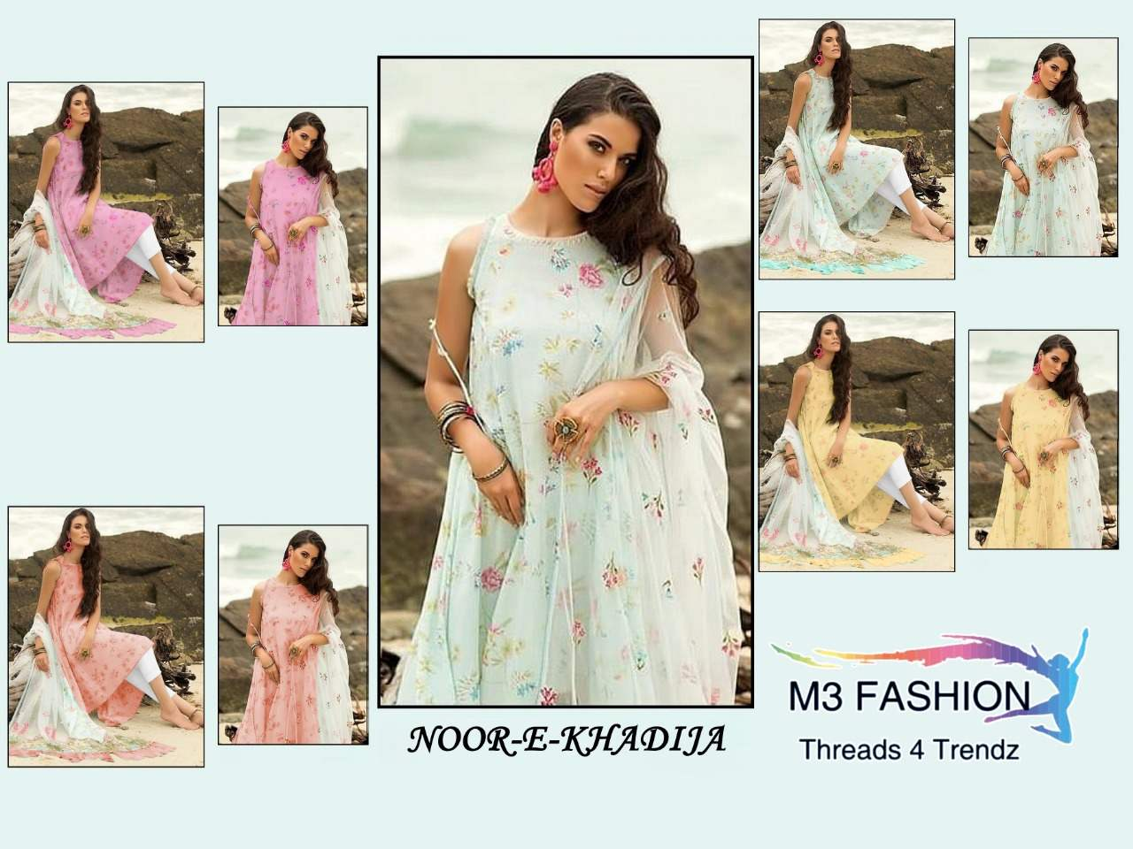 M3 Fashion Noor E Khadija collection 3