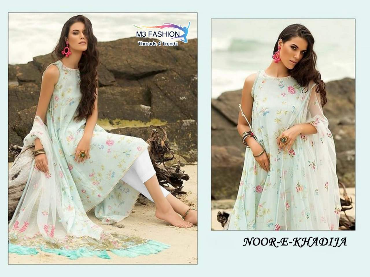 M3 Fashion Noor E Khadija collection 2
