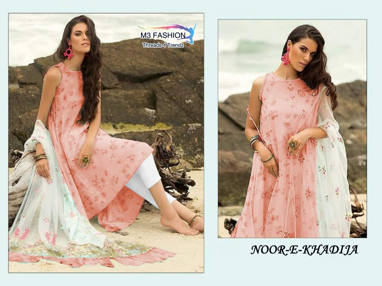 M3 Fashion Noor E Khadija collection 1