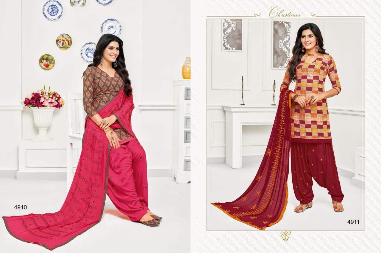 R R Fashion Rr Patiyala collection 5