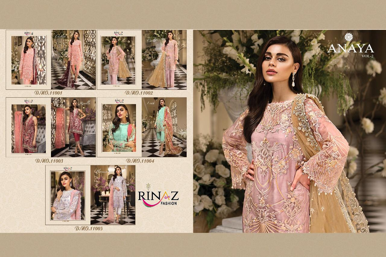 Rinaz Fashion Anaya Vol 2 collection 1