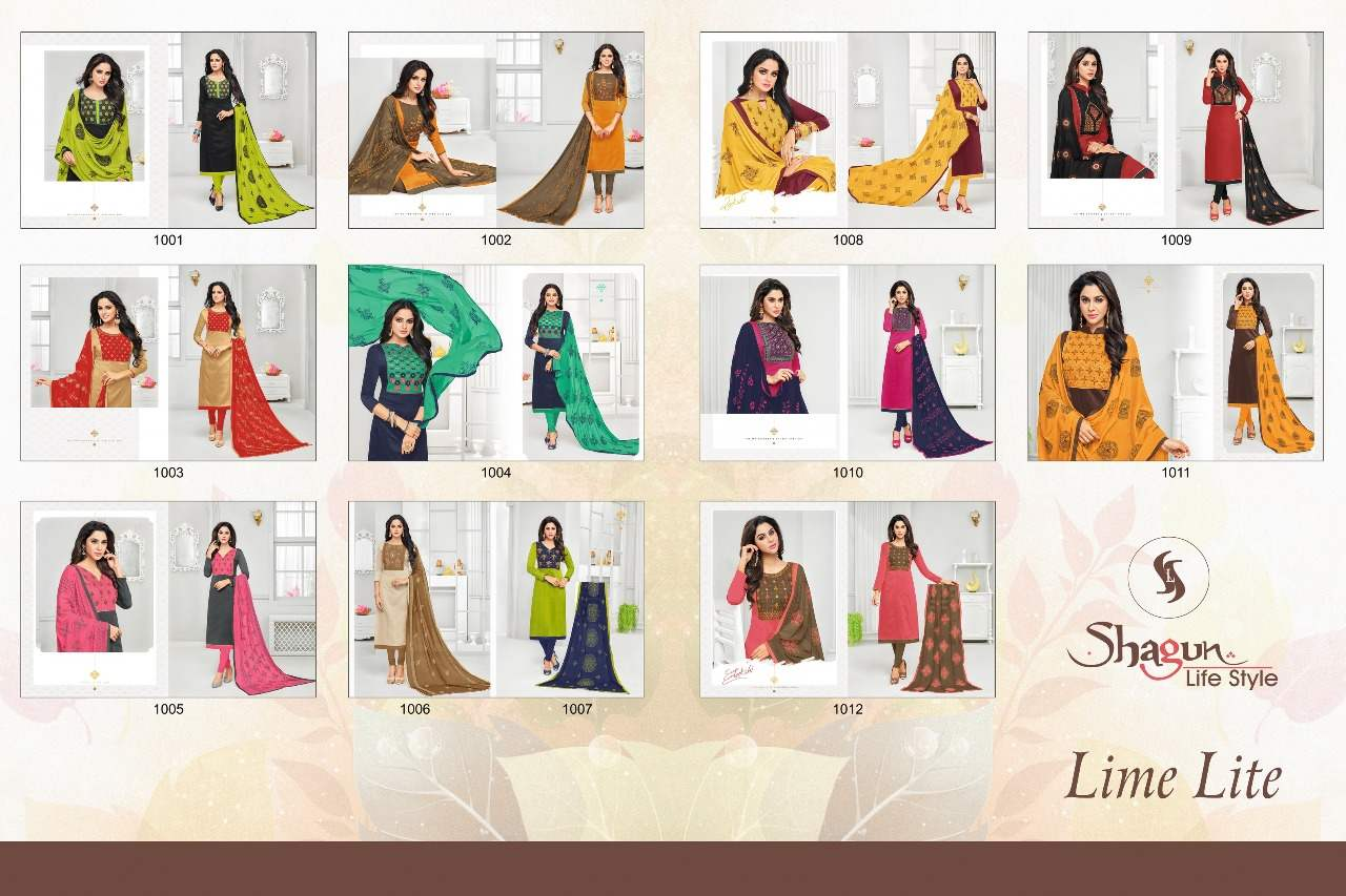 Shagun Life Style Lime Lite collection 1