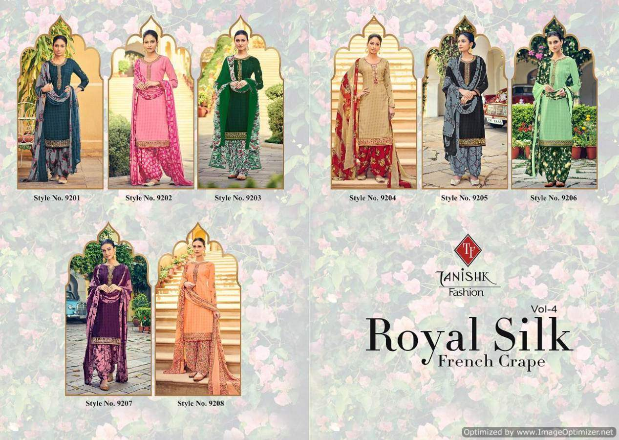 Tanishk Royal Silk 4 collection 3