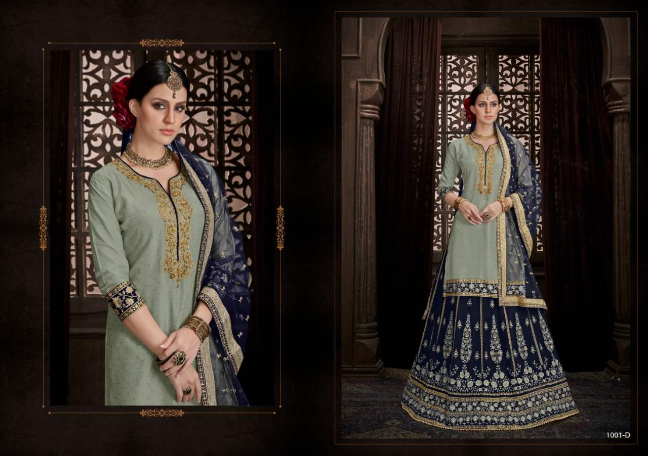 Utsav Suits Mehandi Vol 3 collection 1