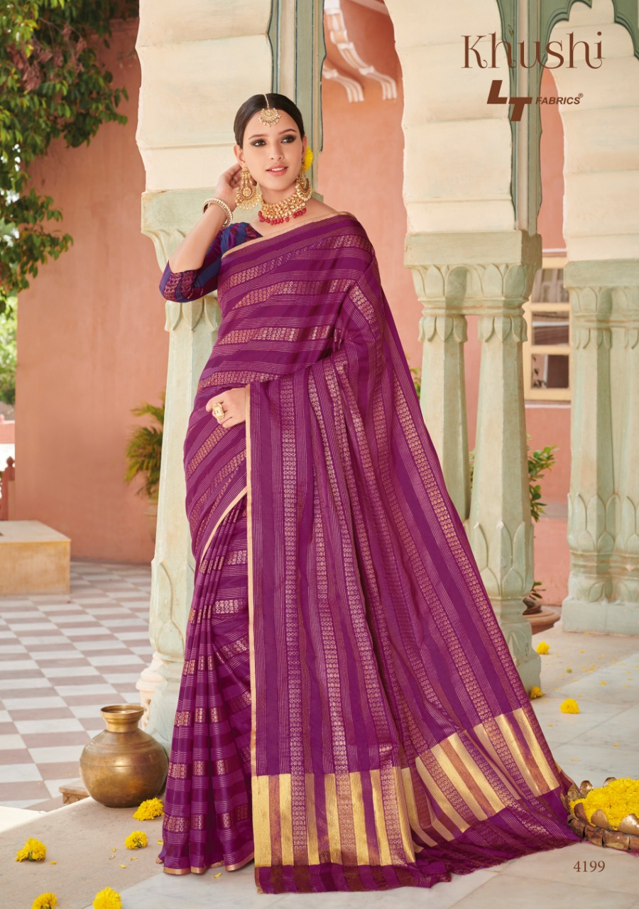 Lt Fabric Khushi collection 6