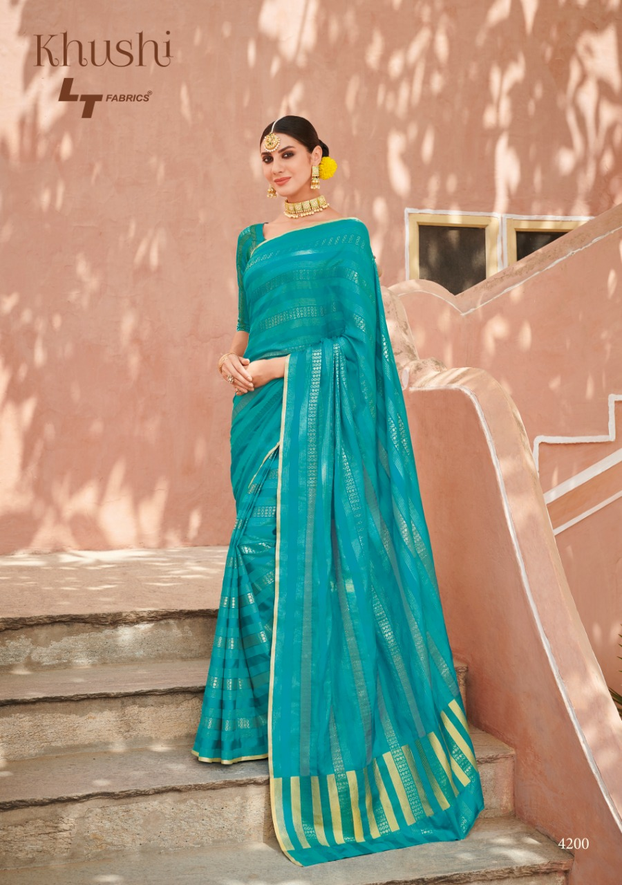 Lt Fabric Khushi collection 2