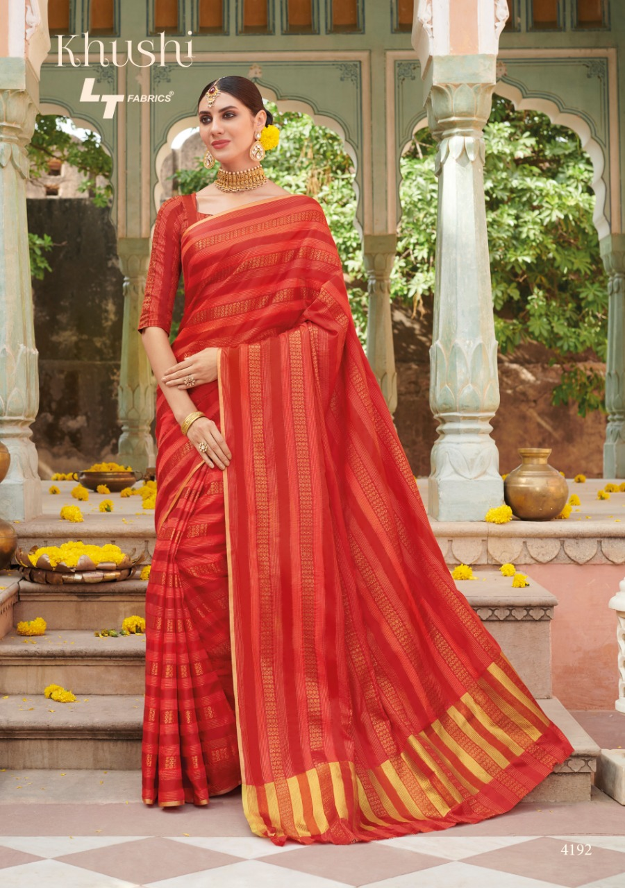 Lt Fabric Khushi collection 1