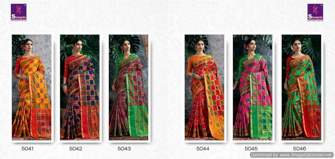 Shangrila Nupur Silk collection 3
