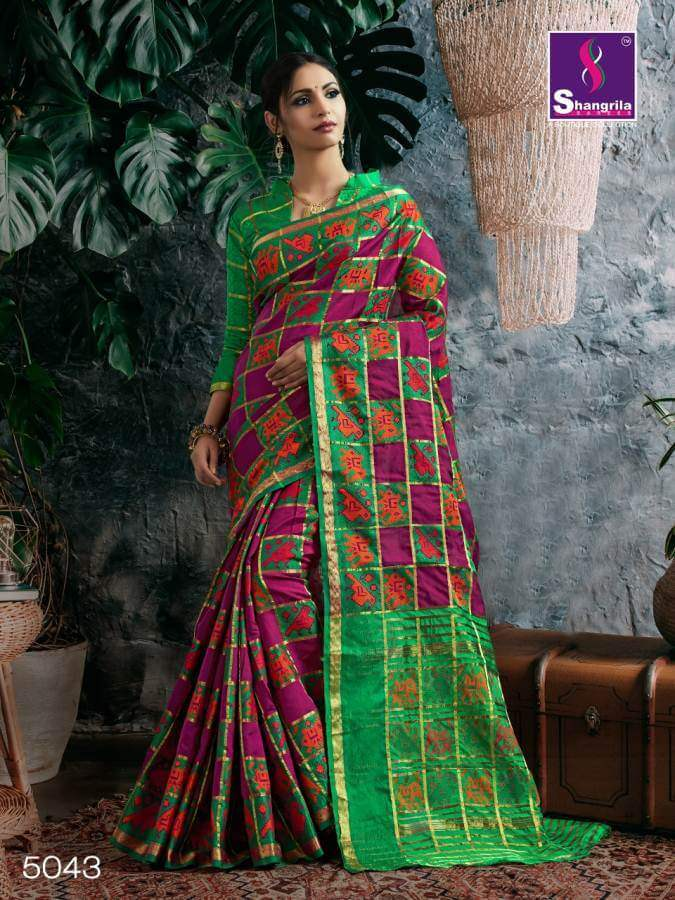 Shangrila Nupur Silk collection 6