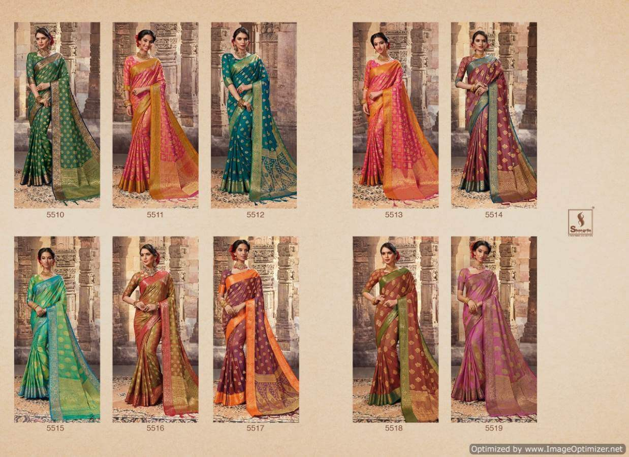 Shangrila Pehnava silk collection 10