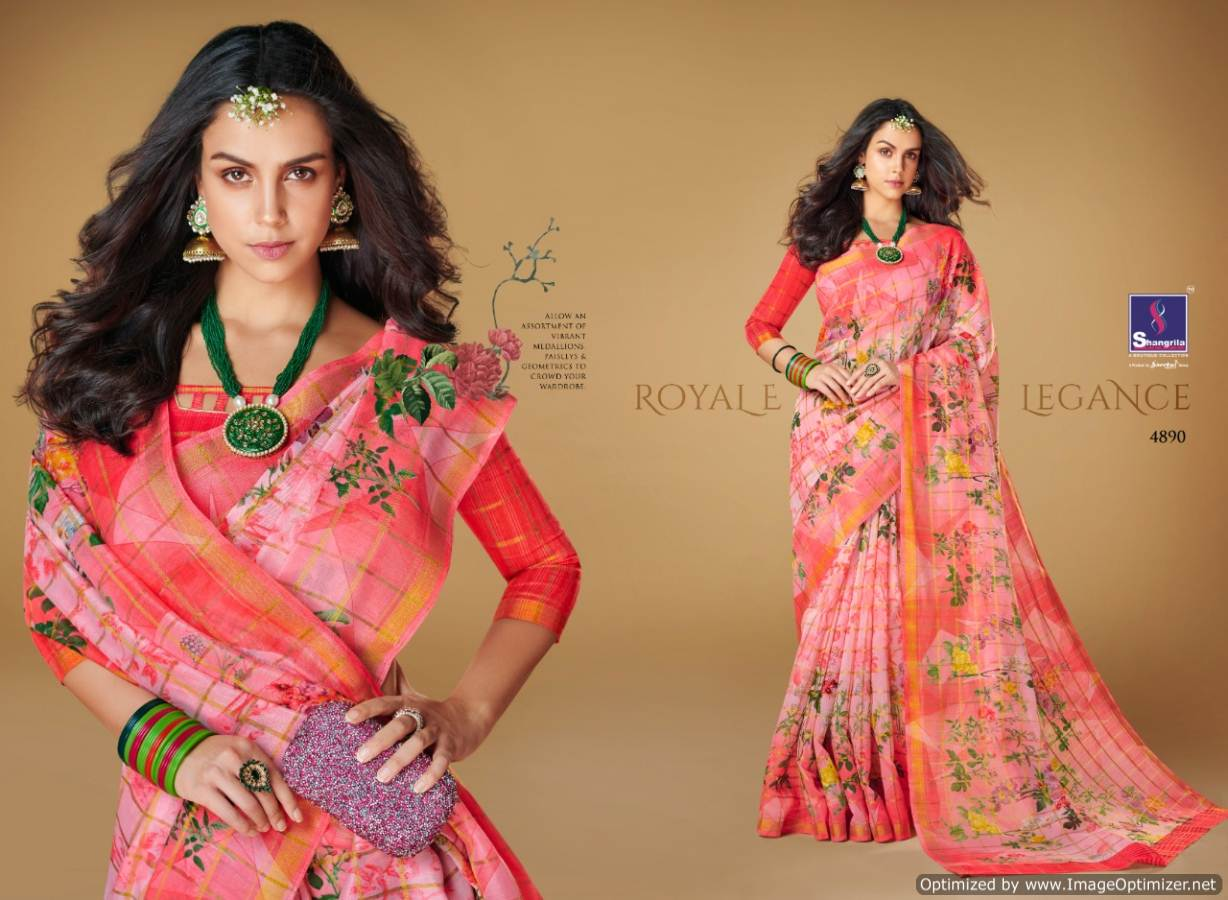 Shangrilla Kajal Linen collection 2