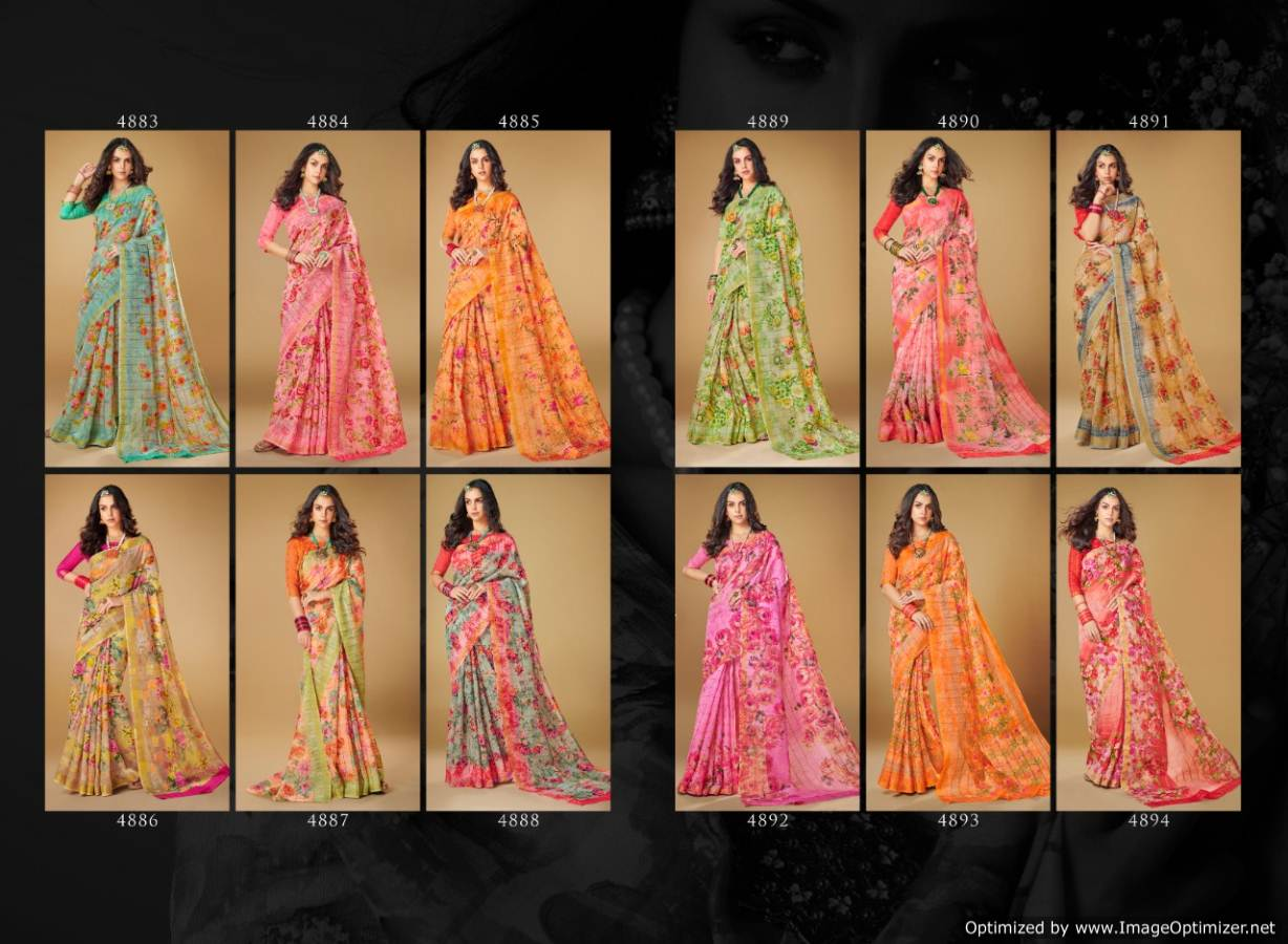 Shangrilla Kajal Linen collection 6