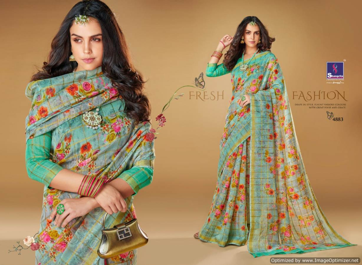 Shangrilla Kajal Linen collection 12