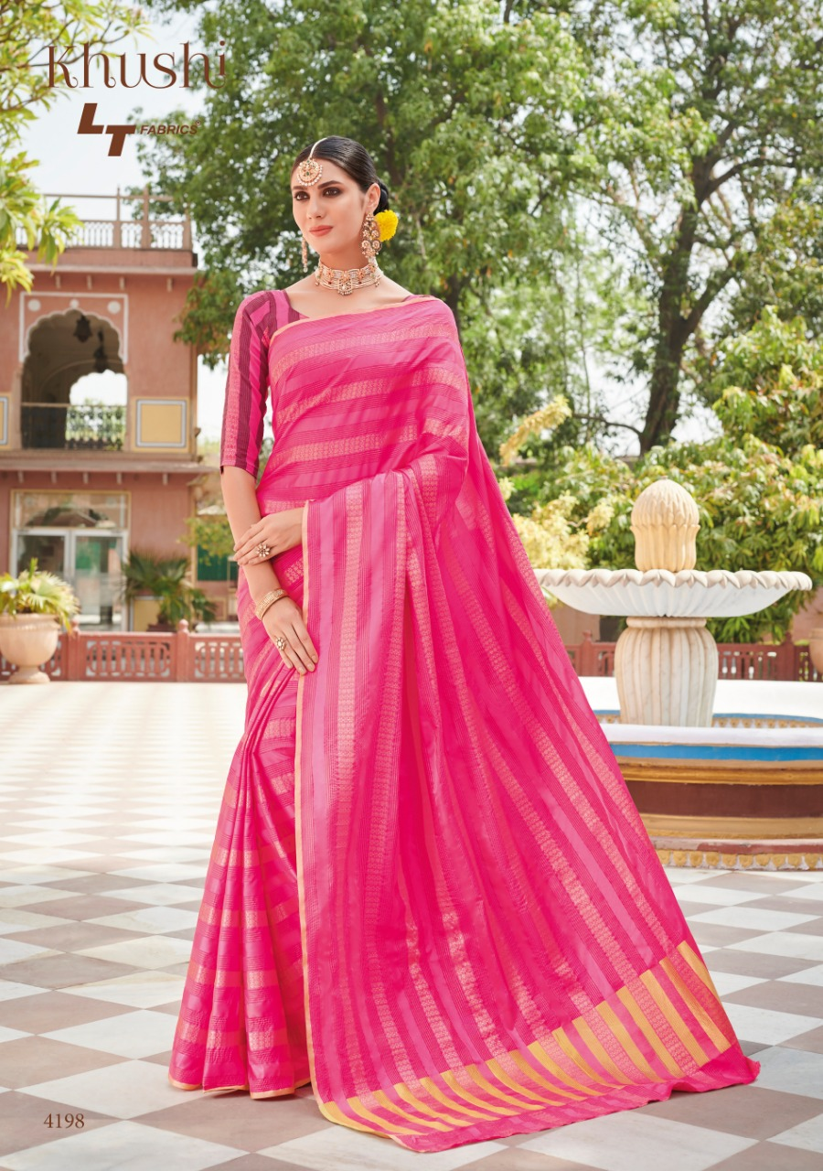 Lt Fabric Khushi collection 4