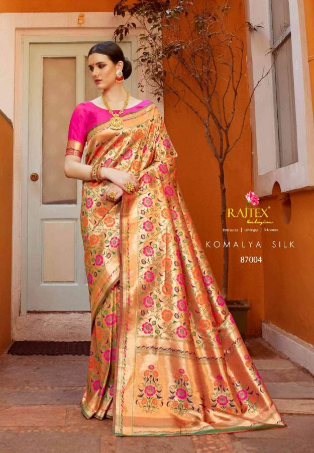 Rajtex Komalya Silk collection 5