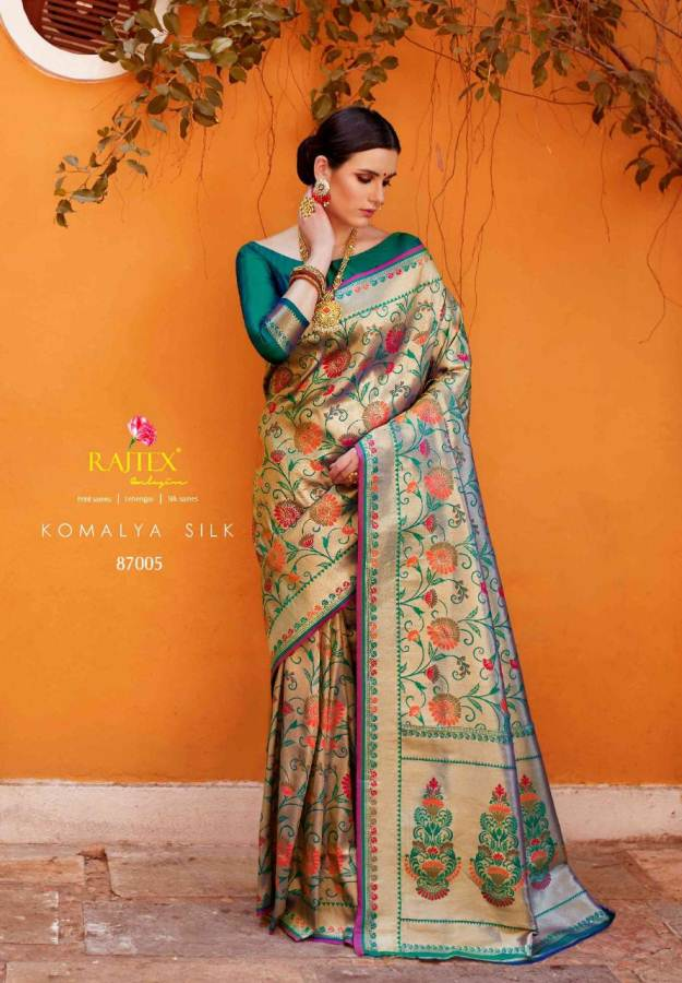 Rajtex Komalya Silk collection 4