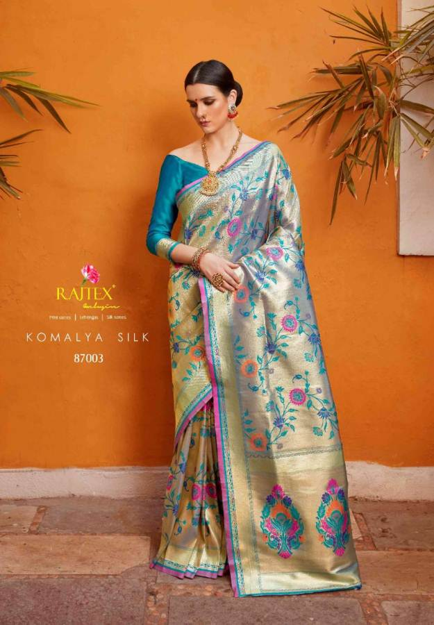 Rajtex Komalya Silk collection 2