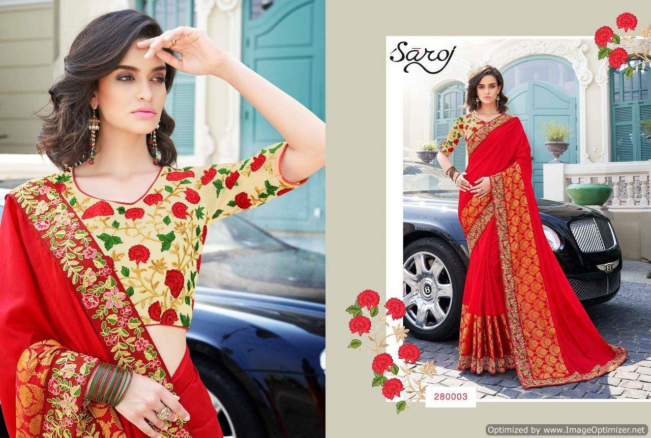 Saroj Anarkali 2 Royal Silk Designer Saree collection 2