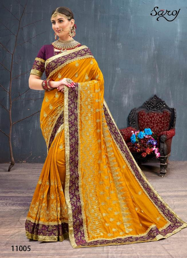 Saroj Rangvarsha Sana collection 8