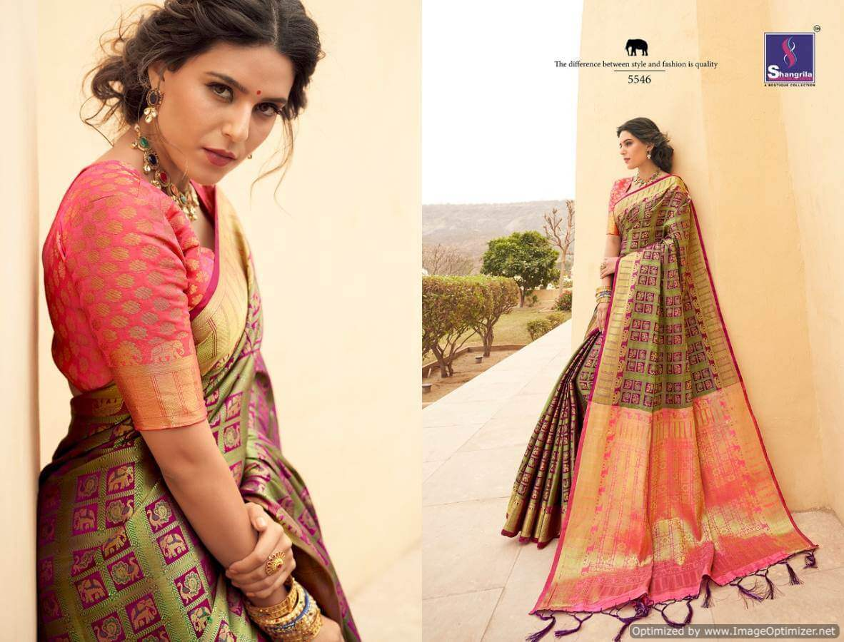 Shangrila Mahakantha silk collection 3