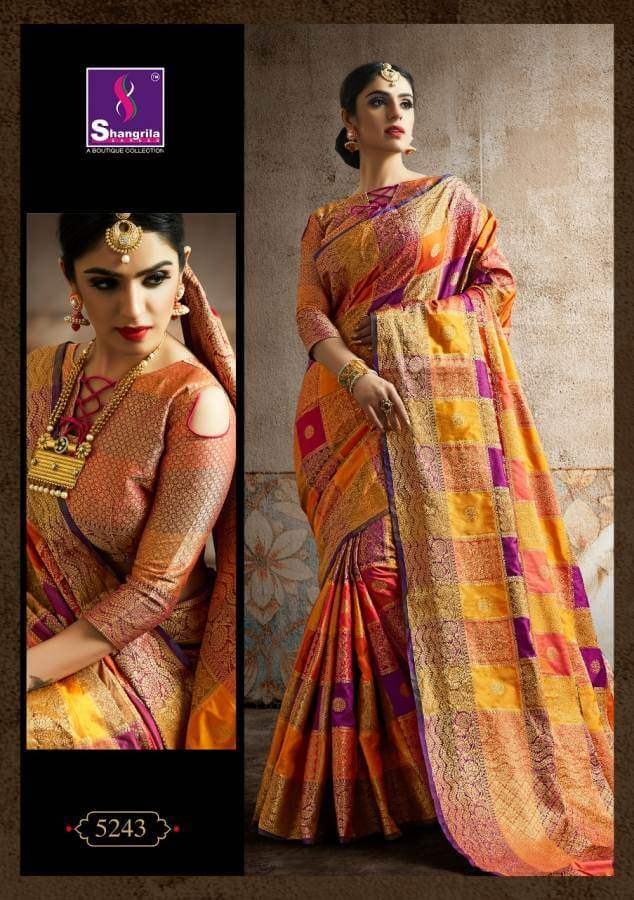 Shagrilla Poshak Silk collection 5