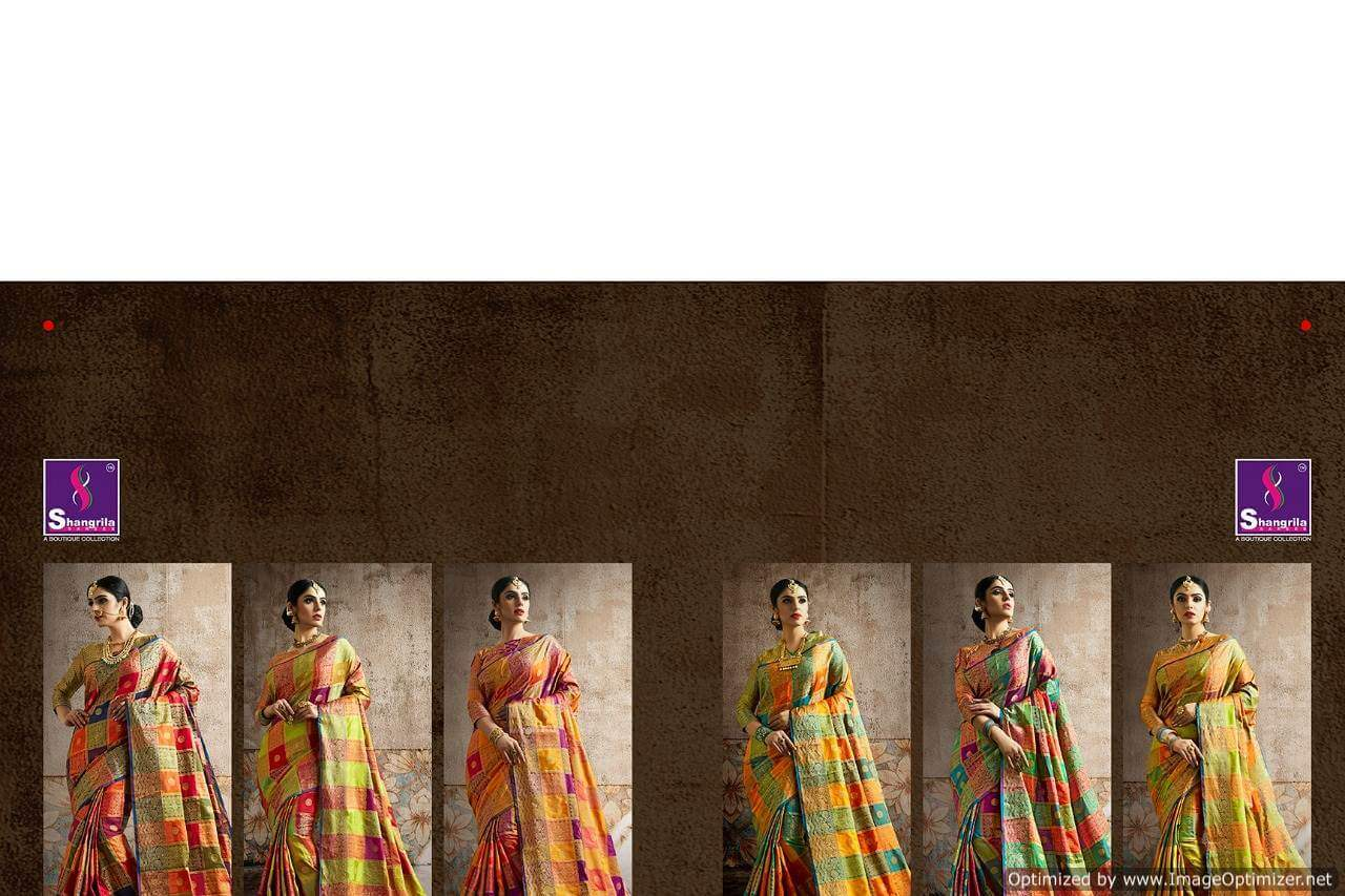 Shagrilla Poshak Silk collection 2