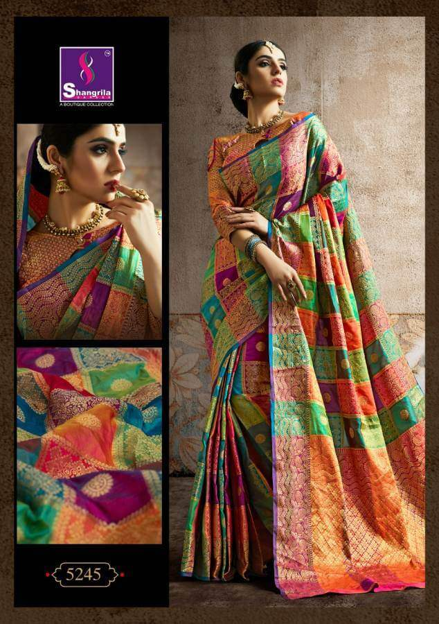 Shagrilla Poshak Silk collection 1