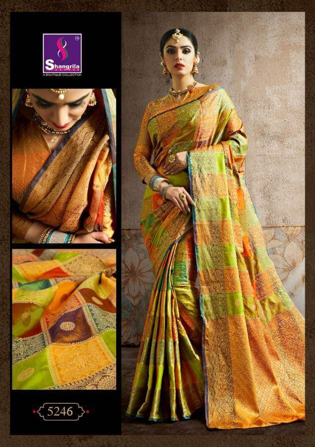 Shagrilla Poshak Silk collection 6