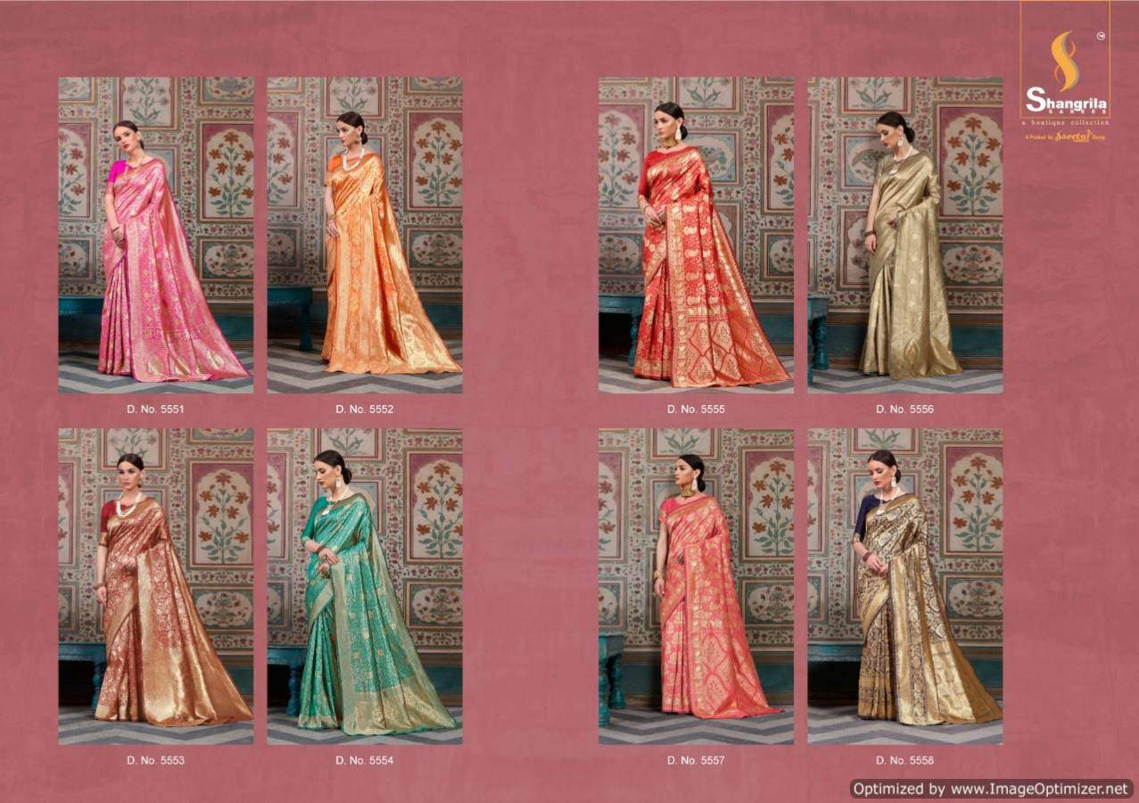 Shangrila Samyra Silk collection 8