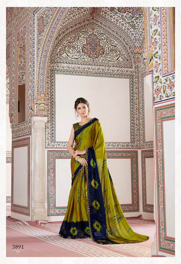 Shangrila Utophia 2 Printed Georgette Fancy Saree Saller collection 2