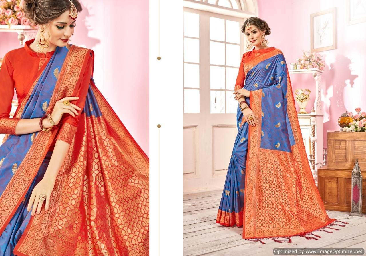 Ynf Ragini Silk Banarasi Silk Saree Wholesale Catalog collection 5